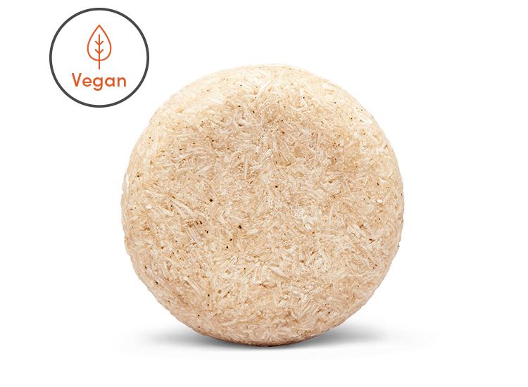 Vegan shine enhancing shampoo bar