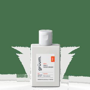 Bottle of kare daily moisturiser