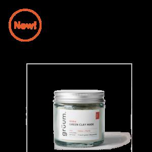New alska Green detox + purify clay mask jar