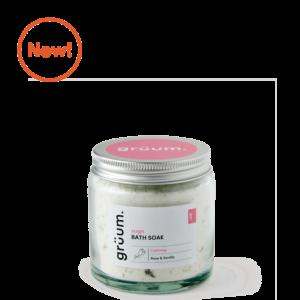 New Rose and Vanilla sugn bath soak jar
