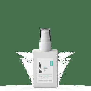 Bottle of glyde shave oil