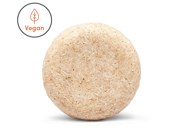 Shine enhancing shampoo bar which is vegan