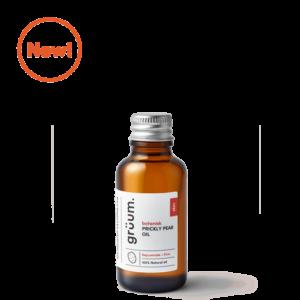 New bottle of botanisk prickly pear face oil